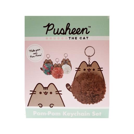 Pusheen   Pom Pom Keyrings (Styles Vary)