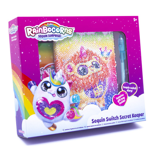 Rainbocorn Sequin Switch Secret Keeper