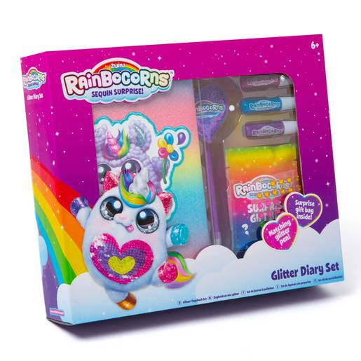 Rainbocorns Glitter Diary Set
