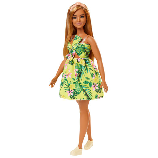 Barbie Fashionistas Doll - Tropical Dress