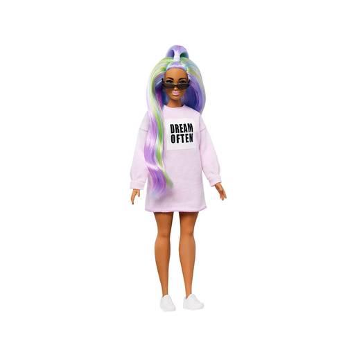 Barbie Fashionistas Doll with Long Rainbow Hair