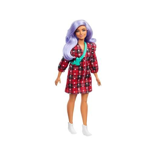 Barbie Fashionistas Doll - Red Star Dress