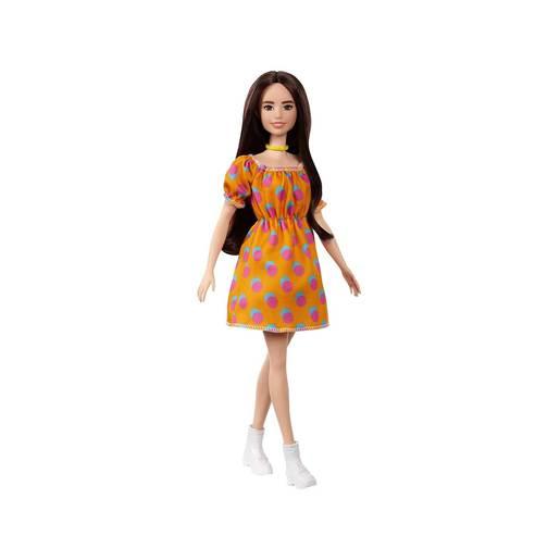 Barbie Fashionistas Doll - Orange Dress