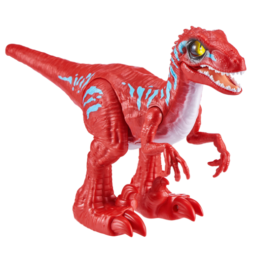 Robo Alive Rampaging Raptor Dinosaur - Red
