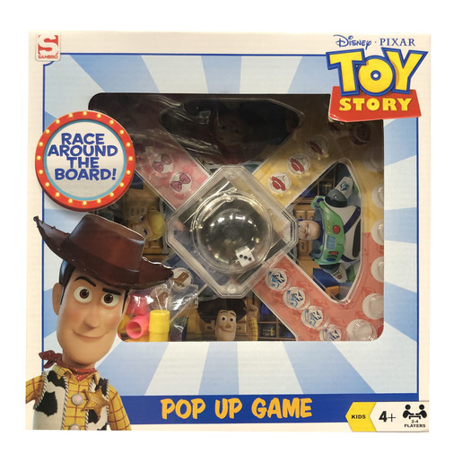Disney Pixar Toy Story 4 Pop Up Game