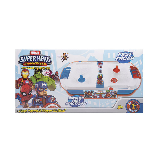 Superhero Adventures Small Air Hockey Game
