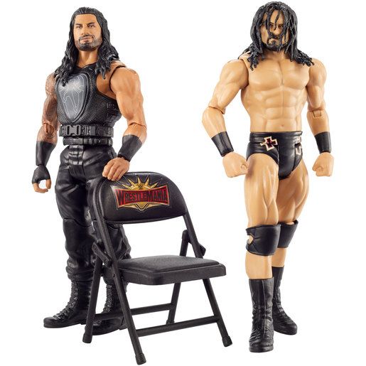 WWE Wrestle mania 2 Pack Figures - Drew McIntyre and Roman Reigns from TheToyShop