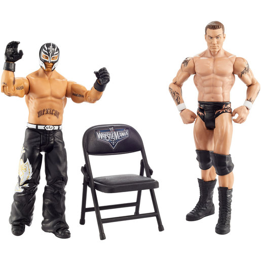 WWE Wrestle mania 2 Pack Figures - Randy Orton and Rey Mysterio from TheToyShop