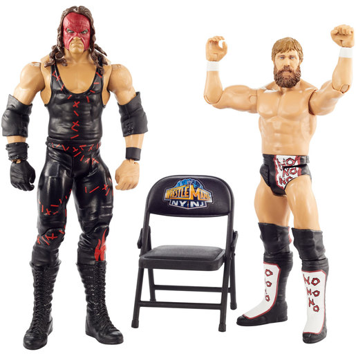 WWE Wrestle mania 2 Pack Figures - Kane and Daniel Bryan from TheToyShop