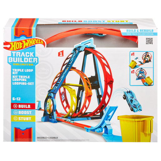 Hot Wheels Track Builder Unlimited - Triple Loop Kit