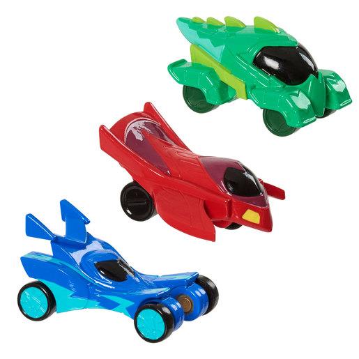 PJ Masks Hero Vehicles 3 Pack
