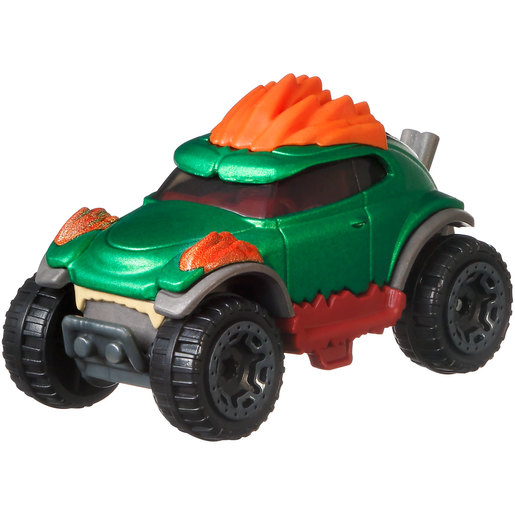 Hot Wheels Gaming Car Street Fighter - Blanka