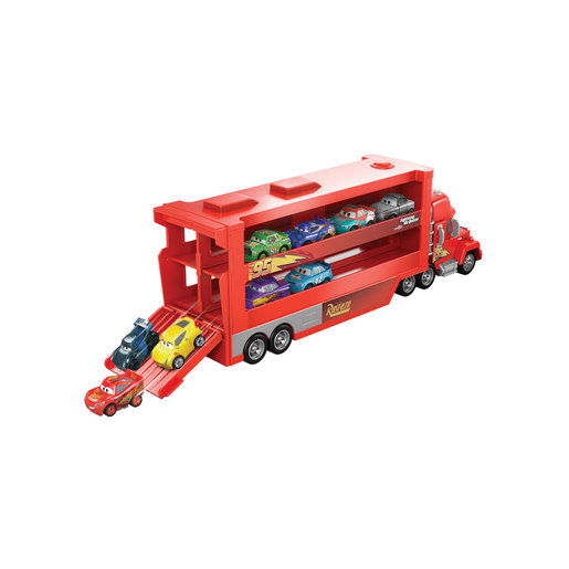 Disney Pixar Cars Mack Mini Racers Hauler Truck