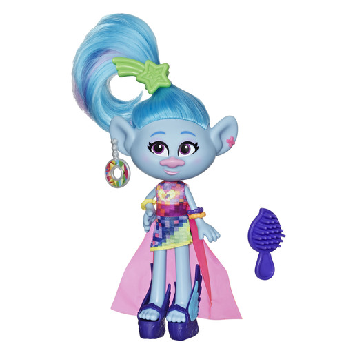 Dreamworks Trolls Work Tour Figure - Glam Chenille