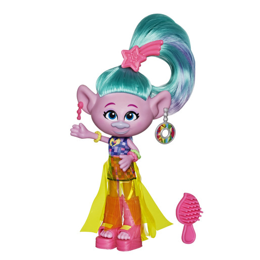 Dreamworks Trolls Work Tour Figure - Glam Satin