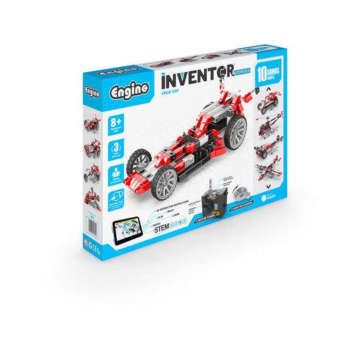 Engino Inventor Motorized Race Car (10 Bonus Models)