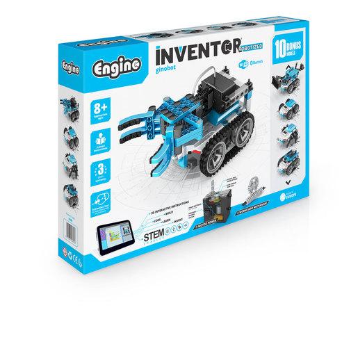 Engino Inventor Robotized Ginobot (10 Bonus Models)