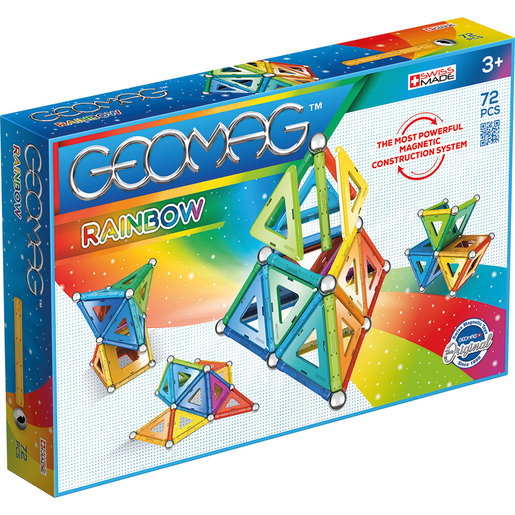 Geomag Rainbow Set - 72pcs.