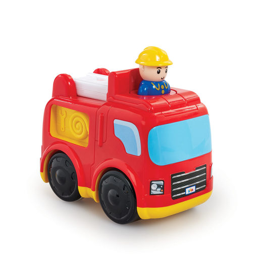 Little Lot Press & Go Rescue Vehicle - Fire Engine