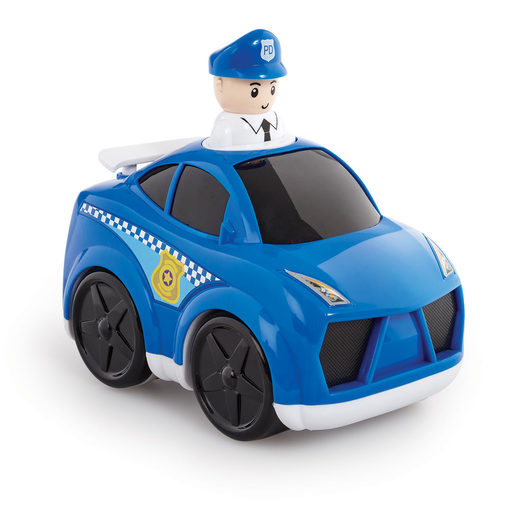 Little Lot Press & Go Rescue Vehicle - Police Car