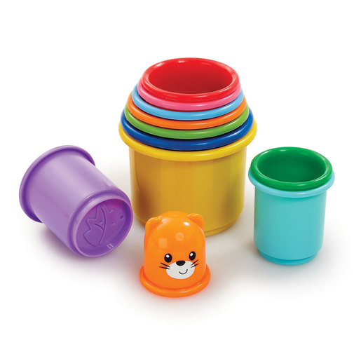 Little Lot Rainbow Stacking Cups