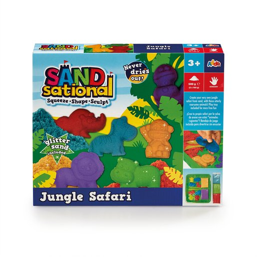 Sandsational Jungle Safari Playset