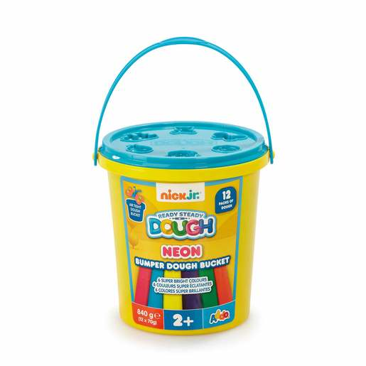 Nick Jr. Ready Steady Dough Neon Bumper Dough Bucket