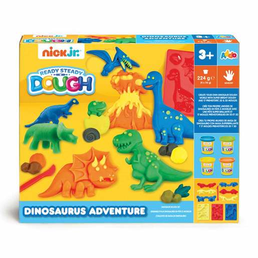 Nick Jr. Ready Steady Dough Dinosauraus Dough Set