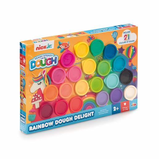 Nick Jr. Ready Steady Dough Rainbow Delight Dough