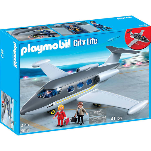 Playmobil City Life Aeroplane - 5619
