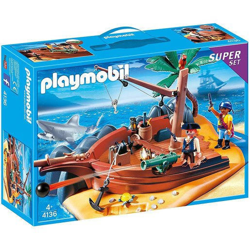 Playmobil Pirate Island Superset - 4136