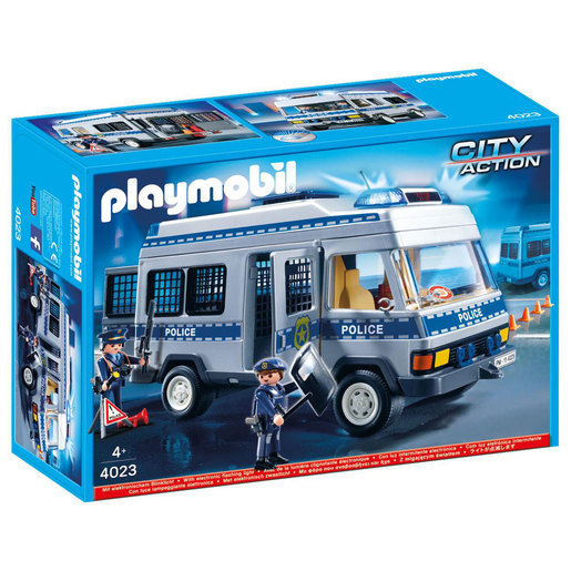 Playmobil 4023 City Action Police Van