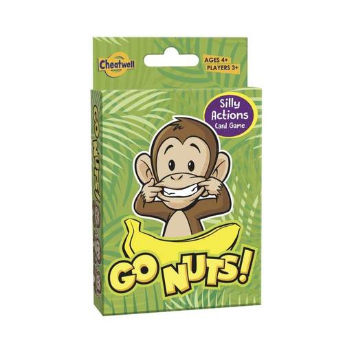 Go Nuts Card Game