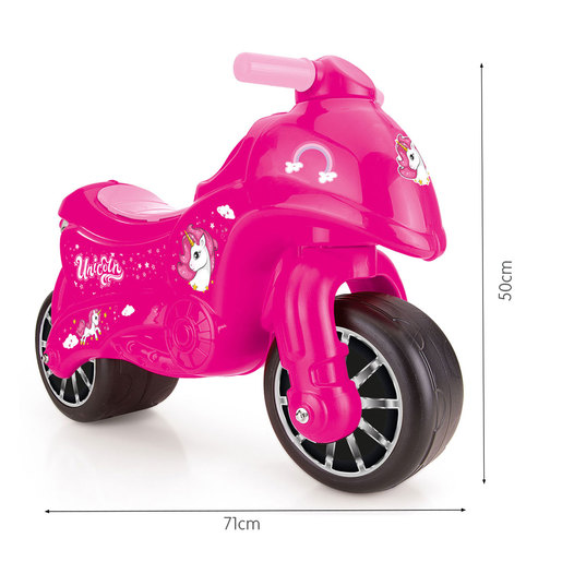 Dolu My First Moto Unicorn Motorbike - Pink