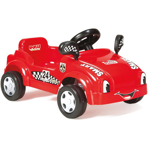 Dolu Pedal Racer Smart Car Ride-On - Red