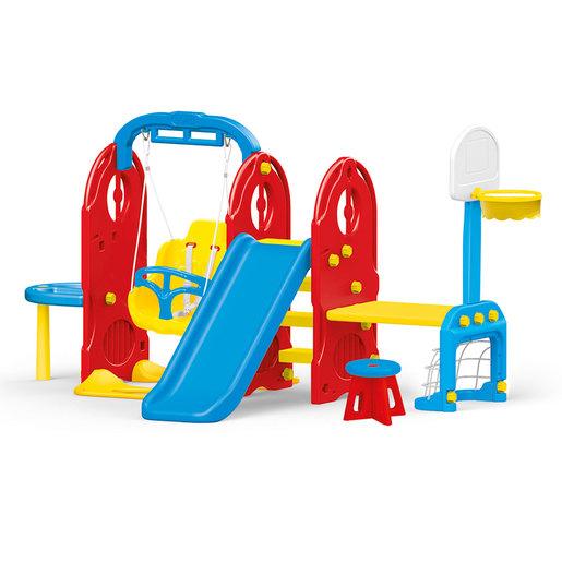 Dolu 7 In1 Indoor & Outdoor Playground Frame (H124cm)