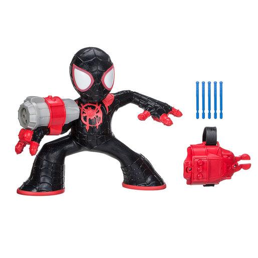 Marvel Spider Man Into The Spider Verse   Shock Strike Figure