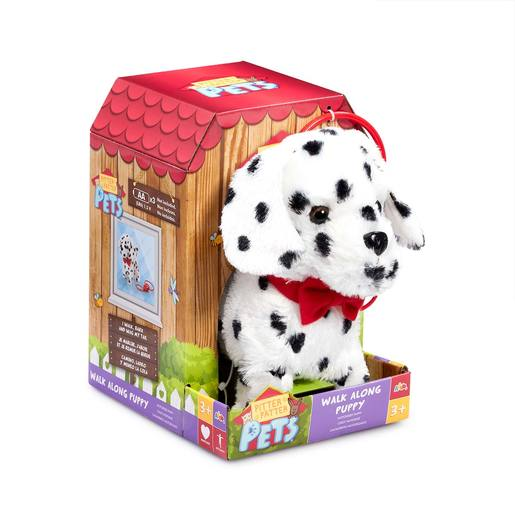 Pitter Patter Pets Walk Along Soft Toy - Dalmatian