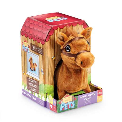 Pitter Patter Pets Walk Along Soft Toy - Pony