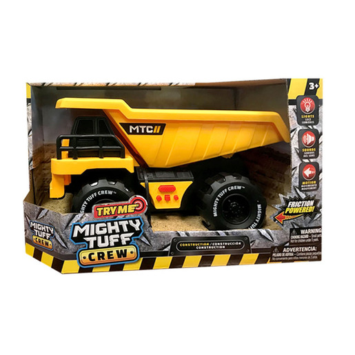Mighty Tuff Crew Vehicles - Dump Truck from TheToyShop