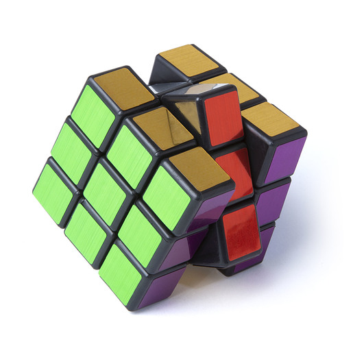 Speed Cube Puzzle - Metallic Edition