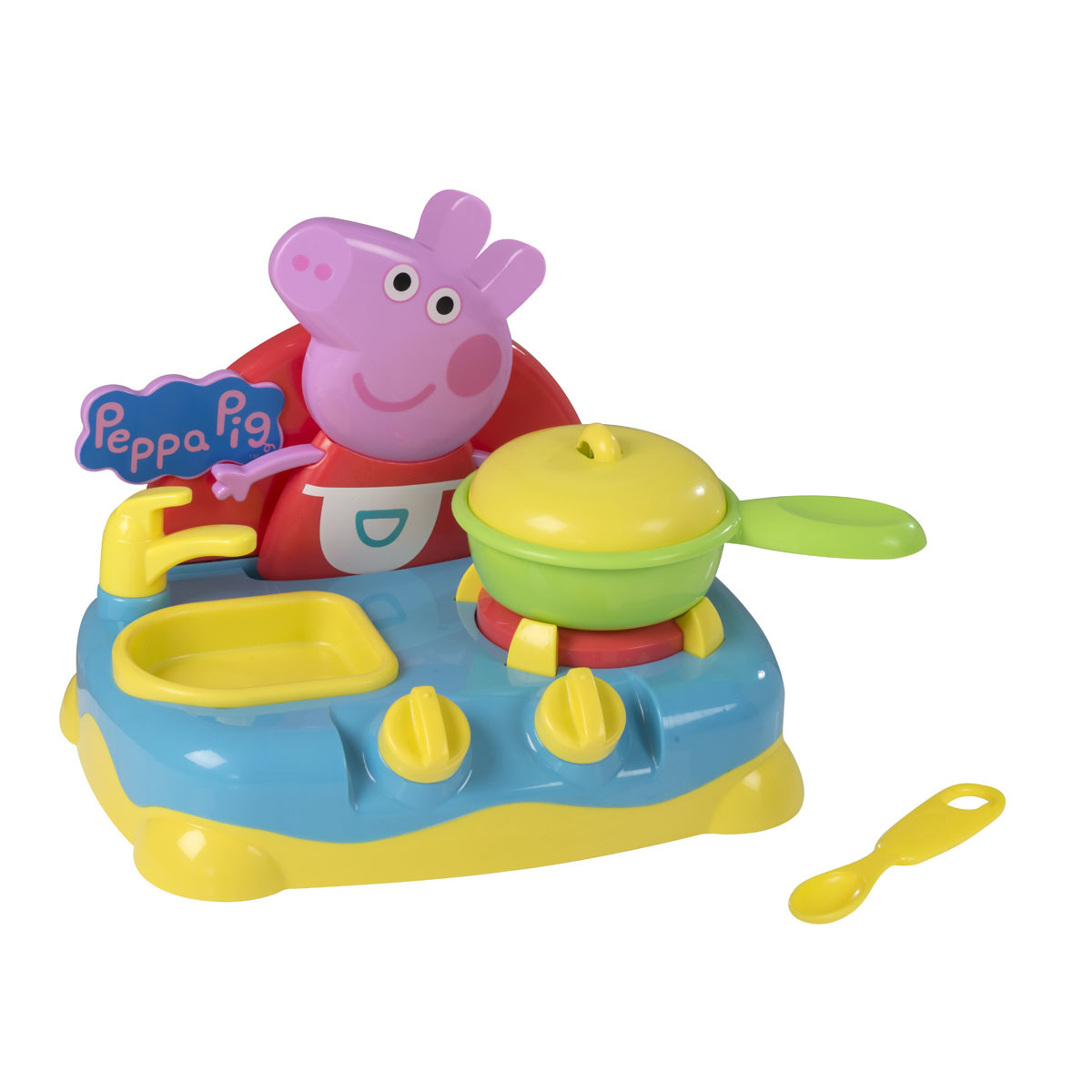Peppa Pig Sing Along Kitchen Playset The Entertainer