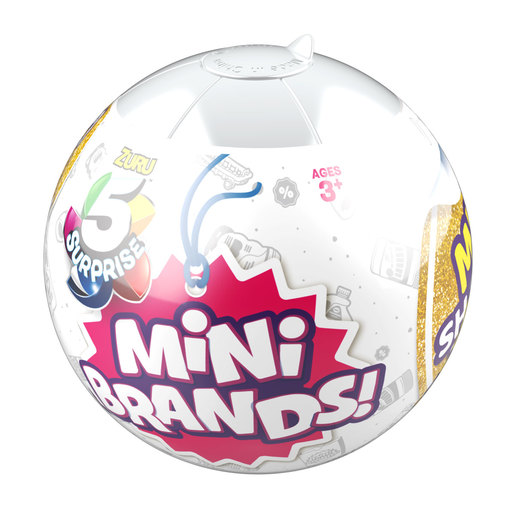 5 Surprise Mini Brands Ball (Styles Vary) By ZURU