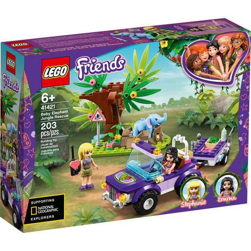 LEGO Friends Baby Elephant Jungle Rescue - 41421