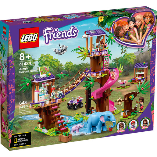 LEGO Friends Jungle Rescue Base - 41424