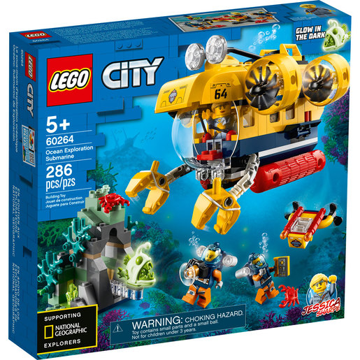 LEGO City Ocean Exploration Submarine - 60264
