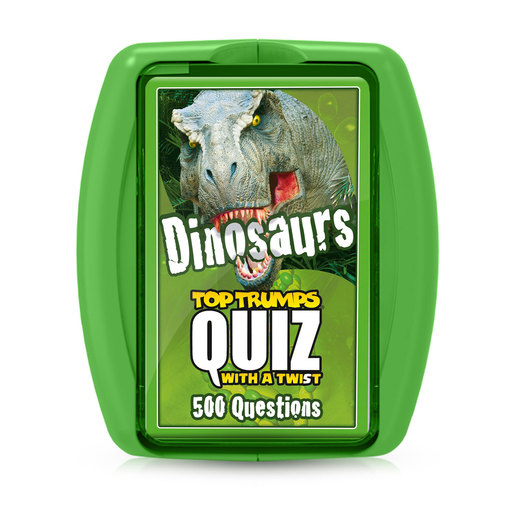 Dinosaurs Top Trumps Quiz Card Game