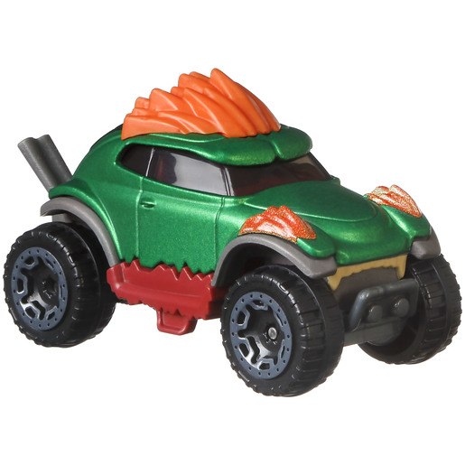 Hot Wheels Street Fighter Car - Blanka