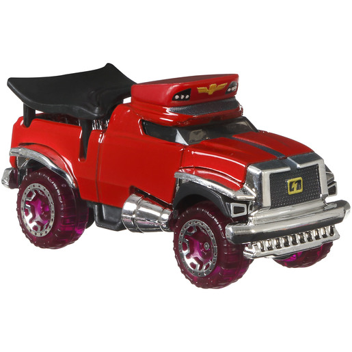 Hot Wheels Street Fighter Car - M.Bison