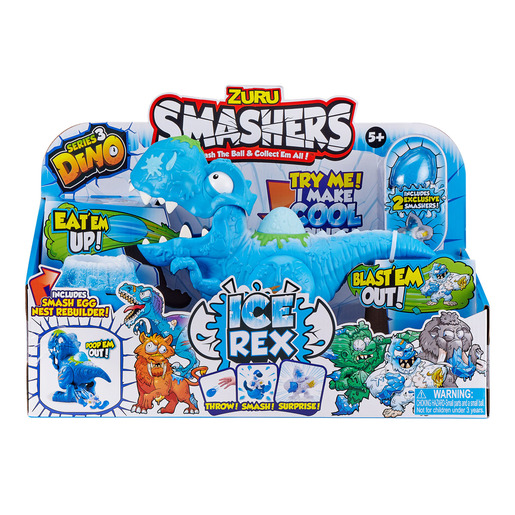 Smashers Dino Ice Age Ice Rex Playset by Zuru from TheToyShop
